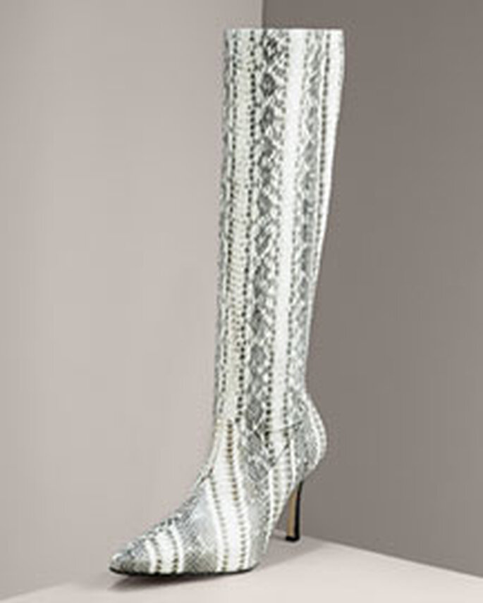 Originelle Stiefel von Manolo Blahnik für die moderne, gewagte und elegante Braut