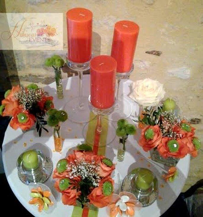 Des tables de mariage aussi élégantes que raffinées - Hibiscus Events