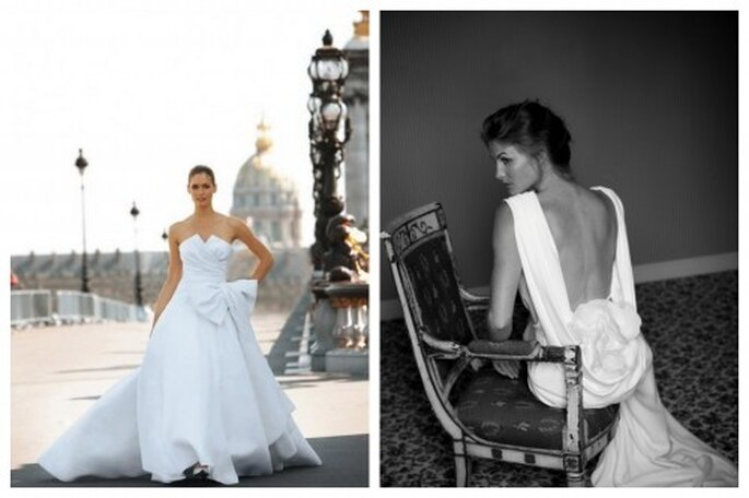 francuskie suknie ślubne