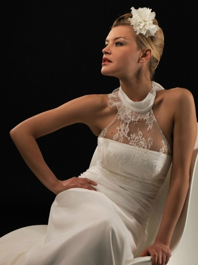 Robe de mariée Lambert Créations 2013, modèle Maëlisse - Photo : Lambert Créations