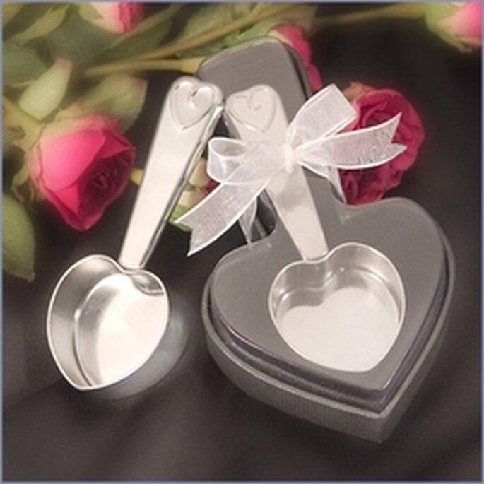 Cueillère à café en forme de coeur
