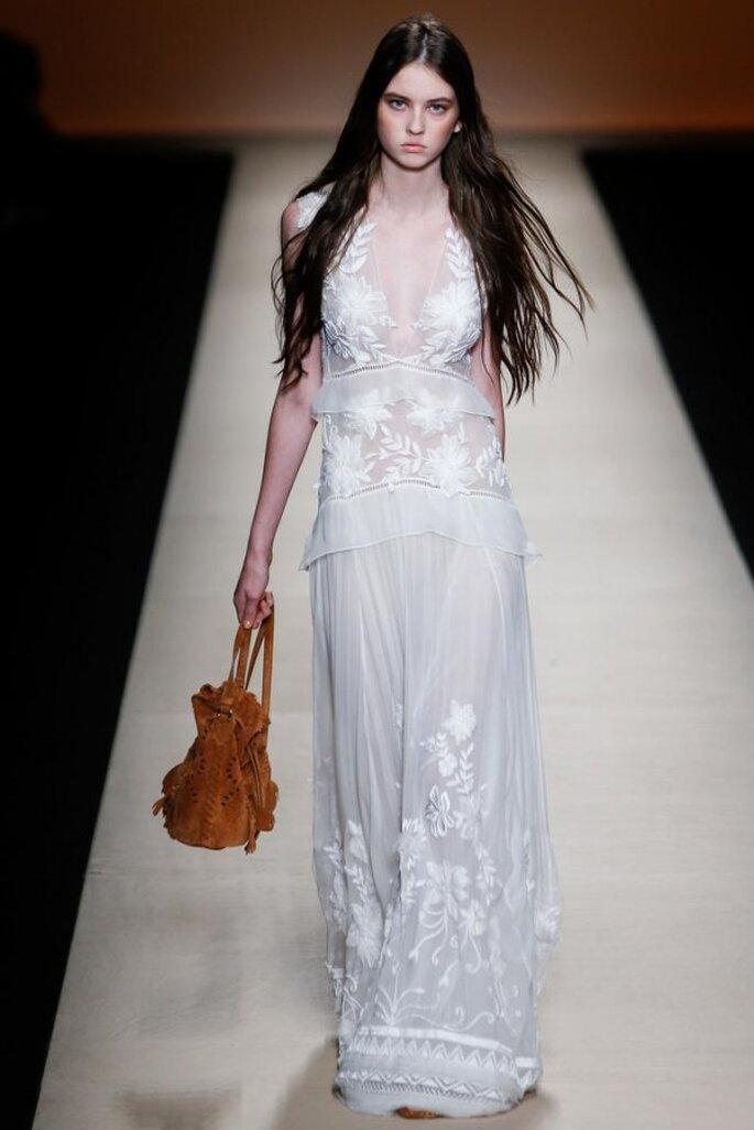 Vestidos de novia con un estilo boho increíble - Foto Alberta Ferretti