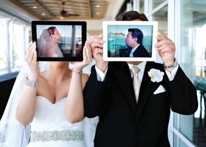 Cómo usar las redes sociales e Internet el día de tu boda - Foto Jeff Tisman