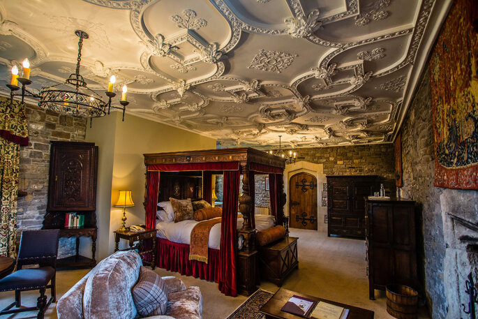 Luxurious Bedroom at Thornbury Castle