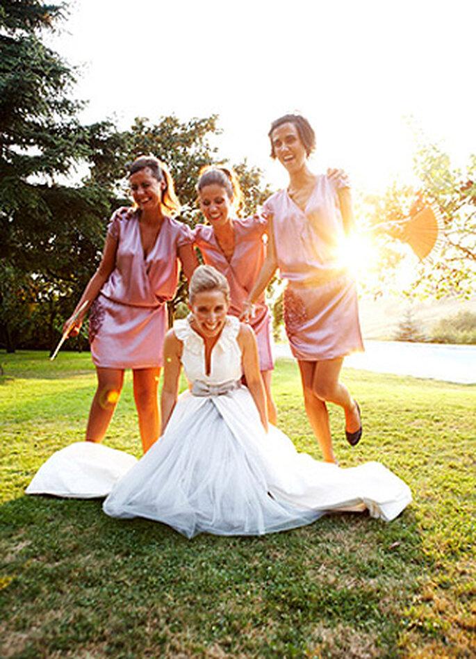 Instantáneas de boda únicas. Foto: Doble A Foto