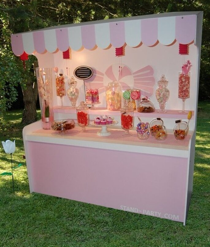 Bar à bonbons - Stand-party.com