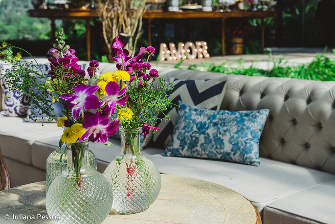 Decoração de casamento com orquídeas um toque de charme