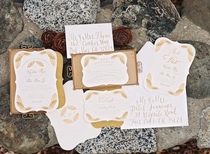 Los 9 mandamientos de las invitaciones de boda perfectas - Em The Gem