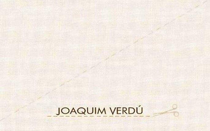 Colección de vestidos de novia Joaquim Verdú 2010