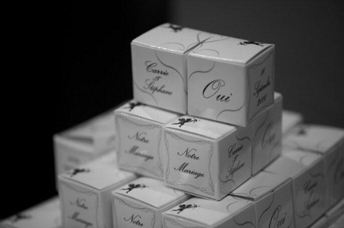 Chocolat de Mariage: So persönlich können Gastgeschenke sein.