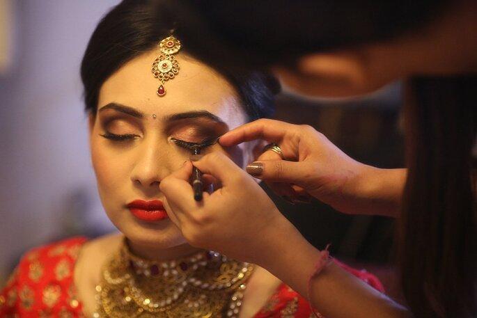 Makeup Artist: : Jharna Shah.