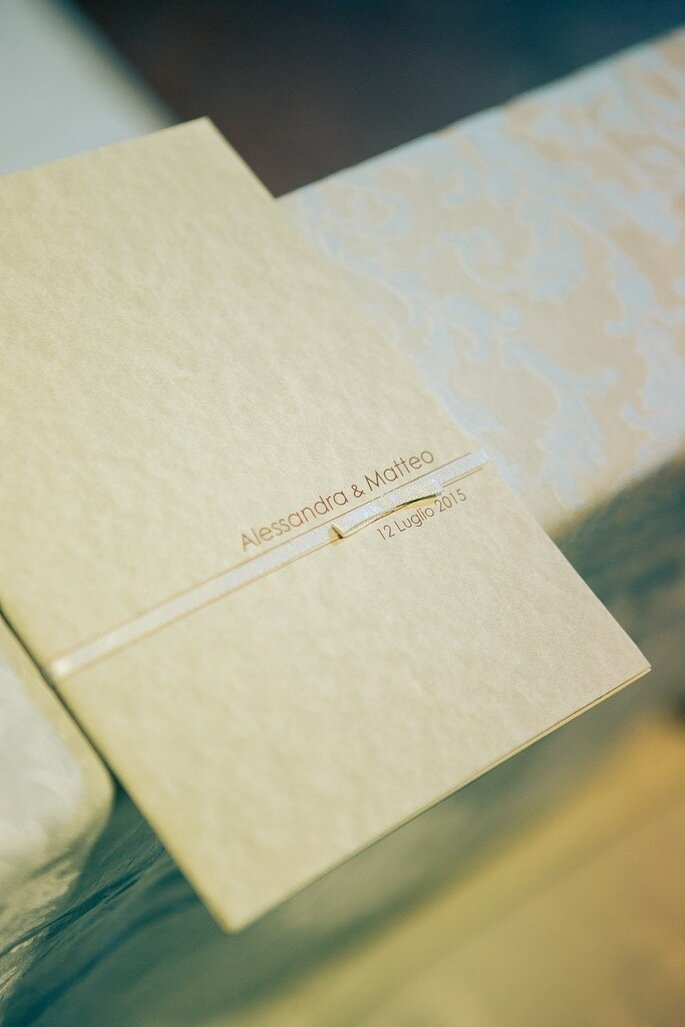 Libretto Cerimonia: Arte in Carta