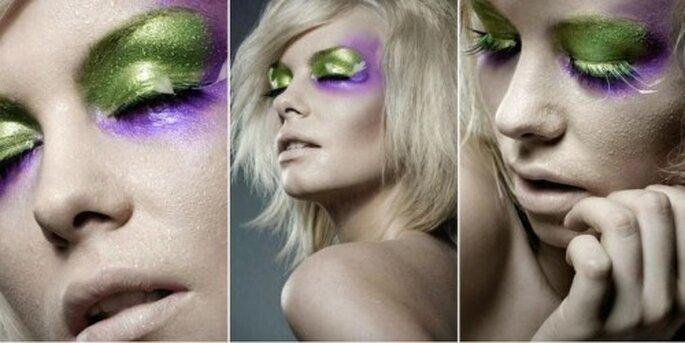 Maquillaje de ojos preboda. Foto de Monique Zoellner.