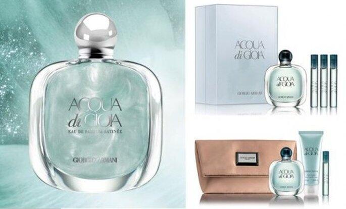 Perfume para novia. Foto de Giorgio Armani.
