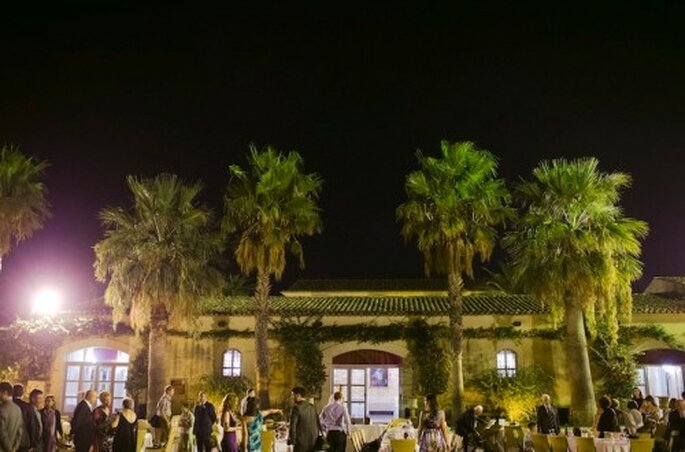 Gefeiert wurde in der Villa Criscione – Foto: Nadia Meli