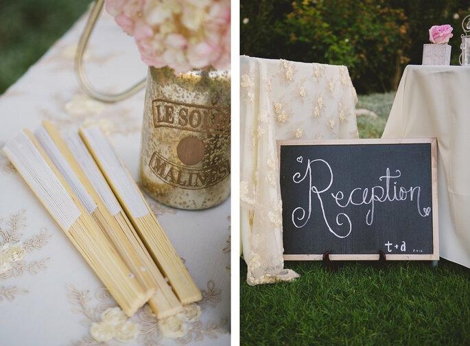 Ideas para combinar colores en tu boda. Foto: Closer to Love Photographs