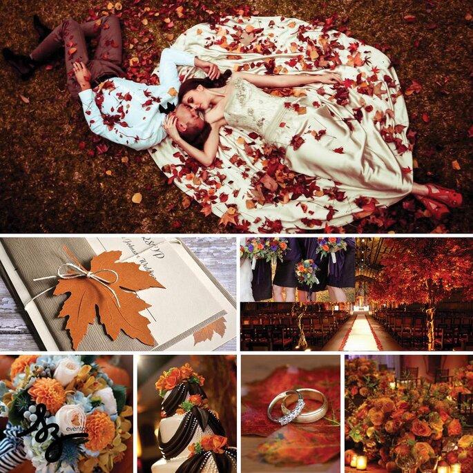 Cómo tener una boda inspirada en el otoño