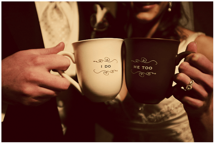 Marquem as vossas taças com frases românticas - Foto Birdsong Photography