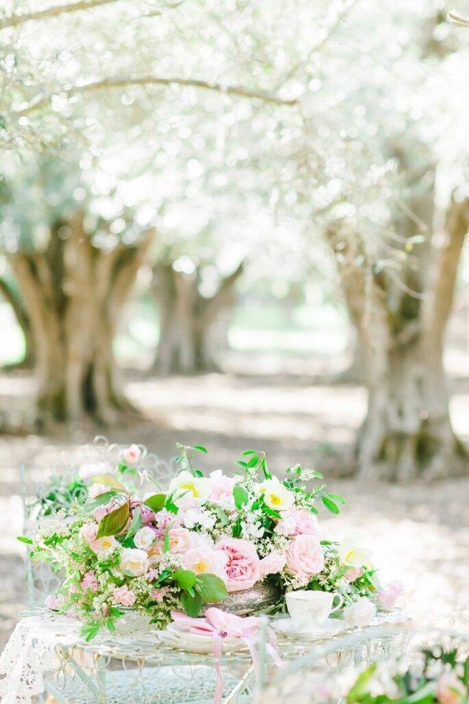 Rosa Blümchen für Ihre Hochzeit - Foto Avec L'Amour Photography