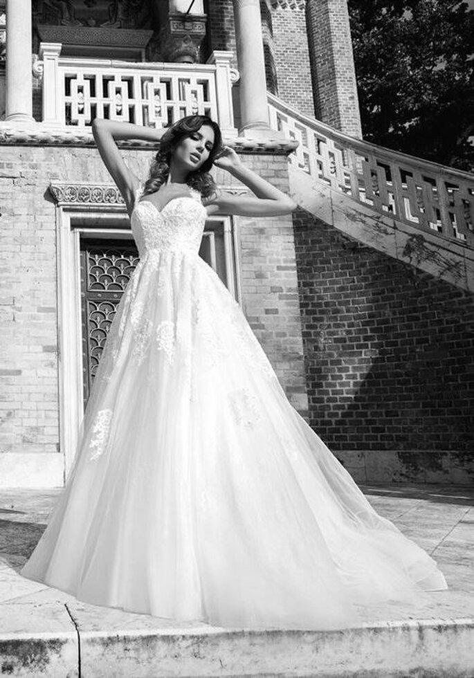 Vestidos de novia con un estilo seductor y elegante - Foto Bien Savvy
