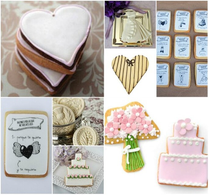 Galletas para novias de Cookie Couture, Cakes haute Couture, Carlota's, Florentine Cupcakes y Mr. Wonderful