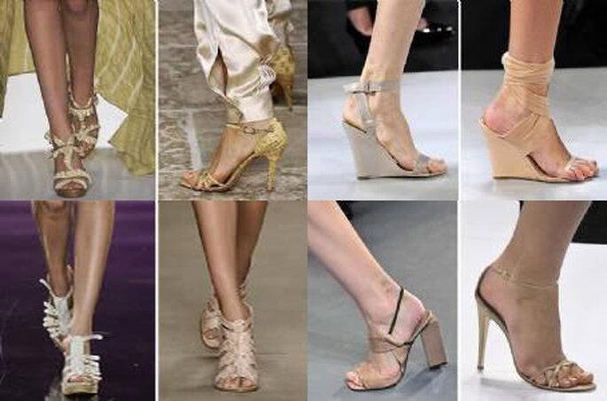 Moda e Tendencias 2010 - sapatos nude