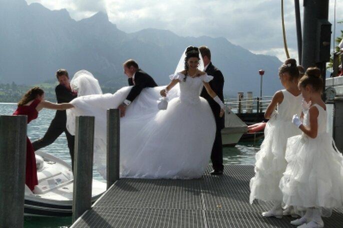 Bräute, die im Ausland heiraten, können auf einem Boot anreisen – Foto: daniel stricker/ pixelio.de