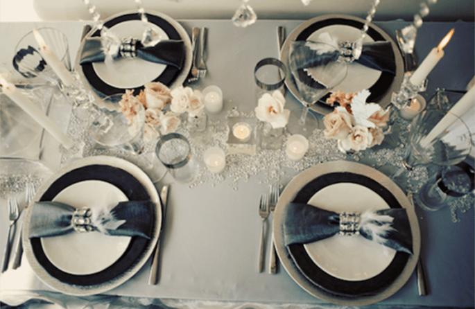 Inspiración en blanco y negro para tu boda - Foto She Wanders Photography