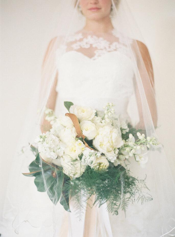 Un ramo de novia con estilo - Foto Patrick Moyer