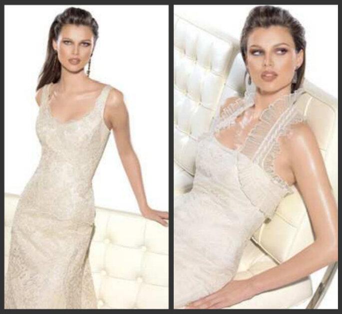 Estos hermosos modelos también integran la colección que Angélica Novias tiene para tí.