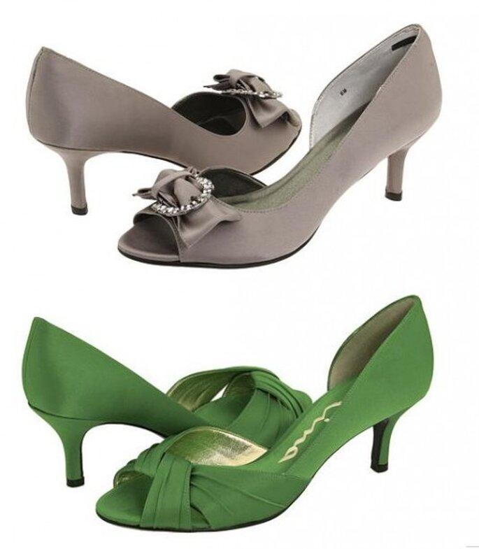 Zapatos de novia, Vigotti y Nina Colver. Foto de Zappos.com