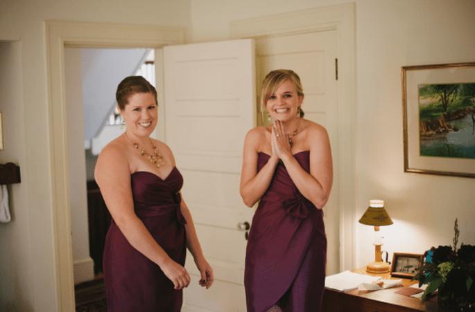 Colores de moda para vestidos de damas de boda 2013. Fotografía Alexandra Roberts