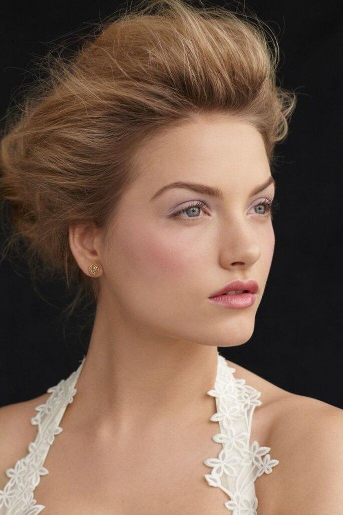 So schön kann ein dezentes Braut-Make up aussehen – Foto: bhldn