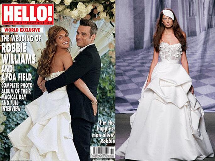 Casamento de Robbie Williams e Ayda Fields