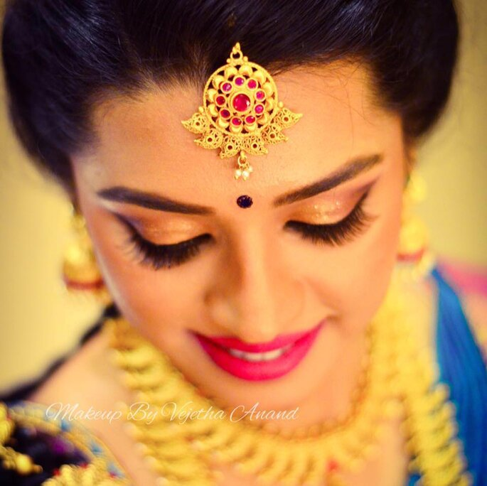 Credit: Makeup By Vejetha Anand.
