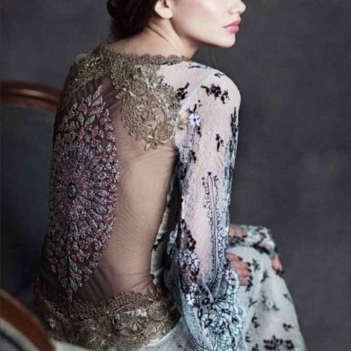 12 vestidos de novia que estarán de moda en 2015 - Claire Pettibone