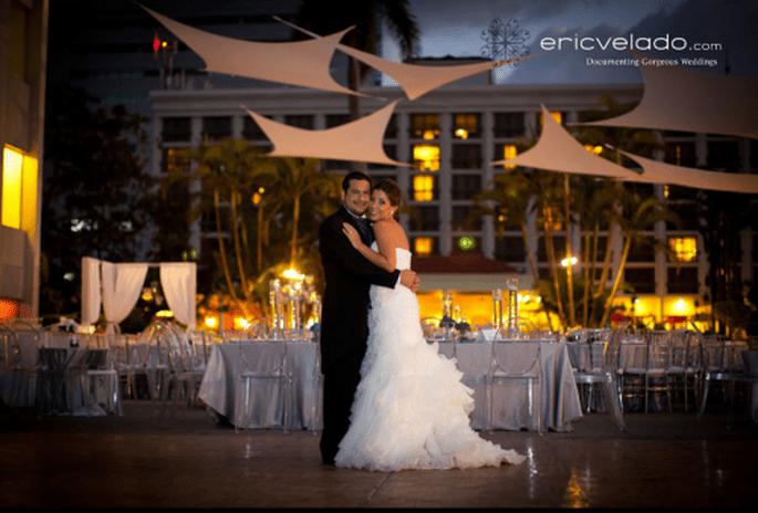 Decoración de boda estilo clásico. Fotografía Eric Velado