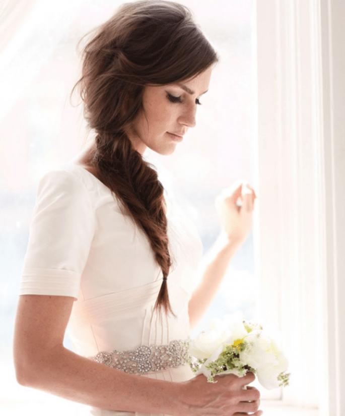Peinado de moda para novia - Foto Jessica Janae