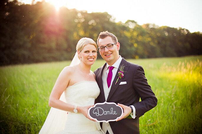 Katrin und Bernhard sagen DANKE - wir auch. - Foto: jonpride.com