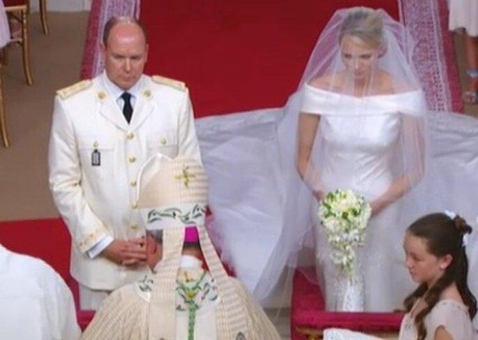La boda de Charlene Wittstock y el Príncipe Alberto, importante boda en el 2011
