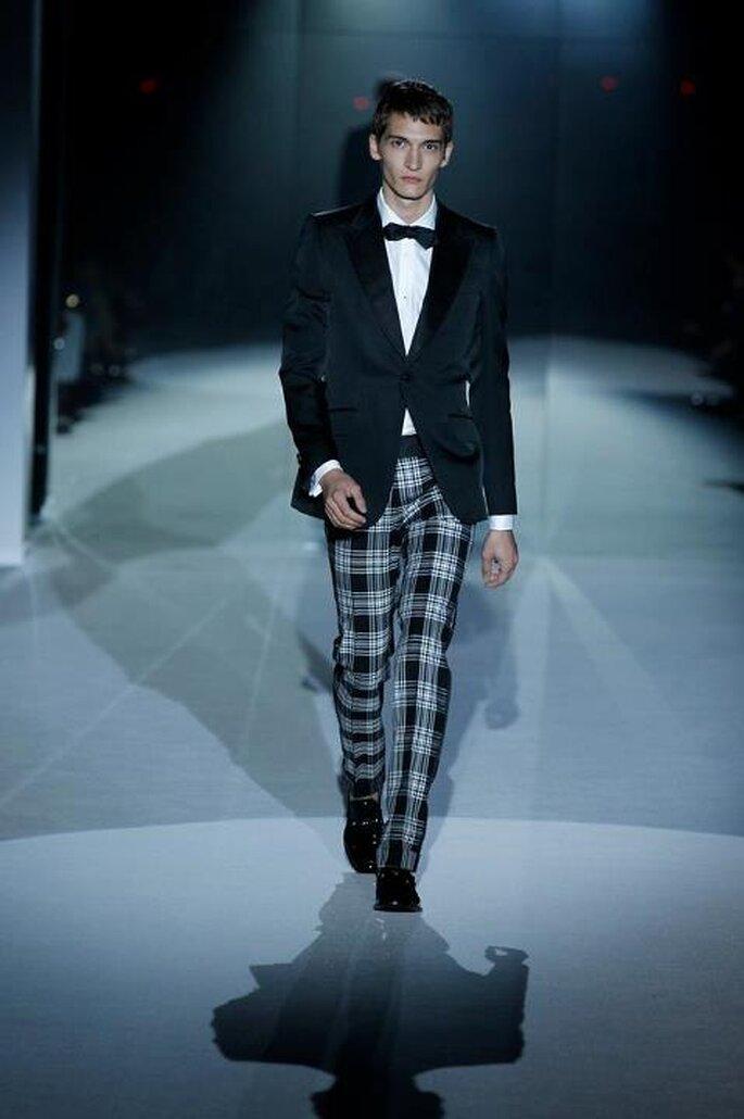 Traje de hombre para ir a una boda fashion - Foto Gucci Facebook