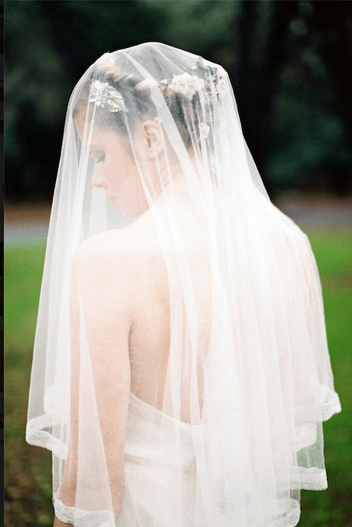 La belleza de las novias en velo de tul - Foto Erica Elizabeth Designs