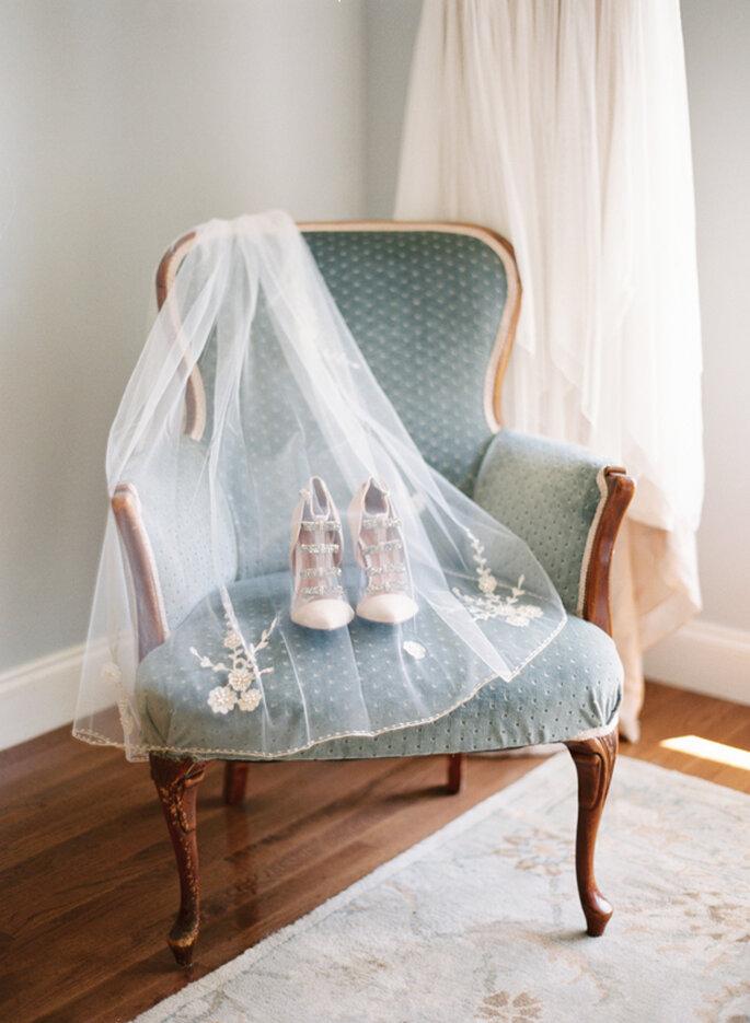 Decoración de boda con tonos polveados y románticos - Cassidy Carson Photography