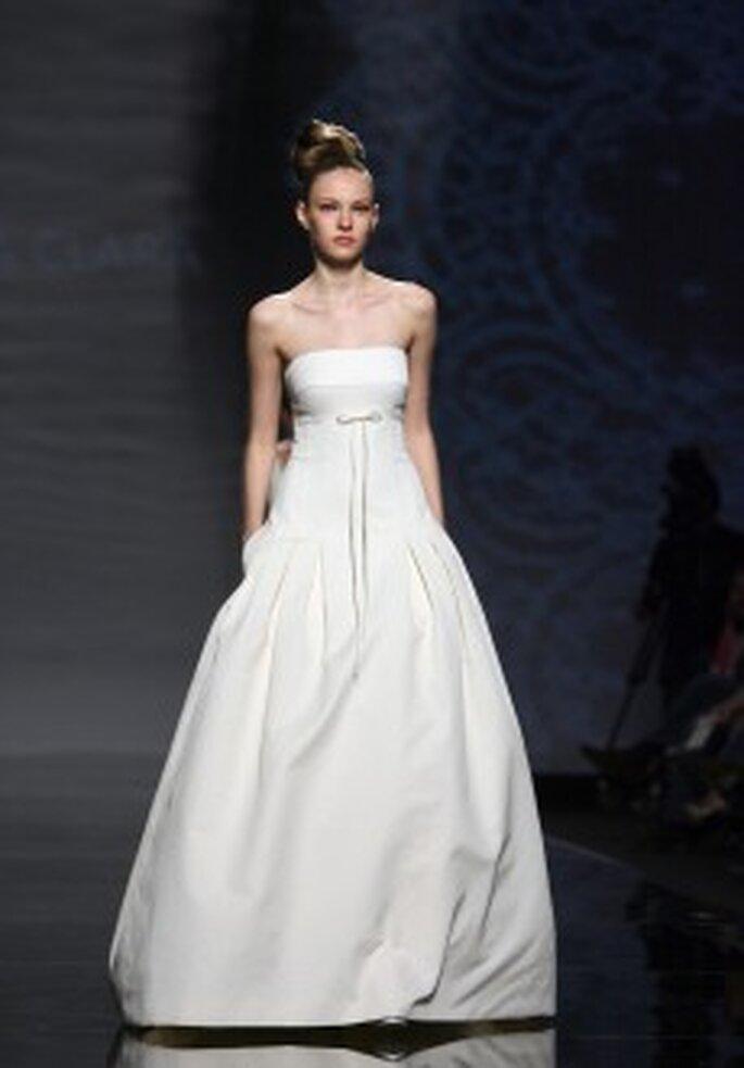 Brautkleider von Rosa Clará Kollektion 2011