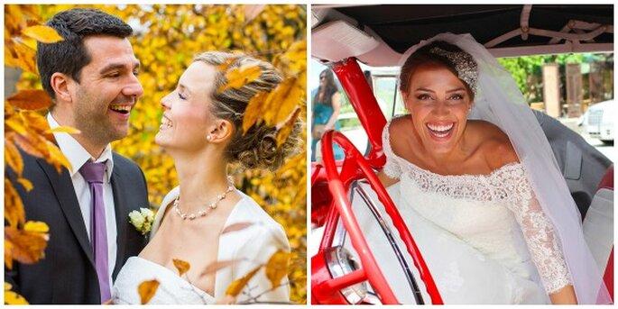 Atemberaubende, farbenfrohe Hochzeitsfotos von Bilderwerk