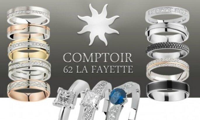 Comptoir 62 La Fayette : des modèles classiques, innovants et originaux