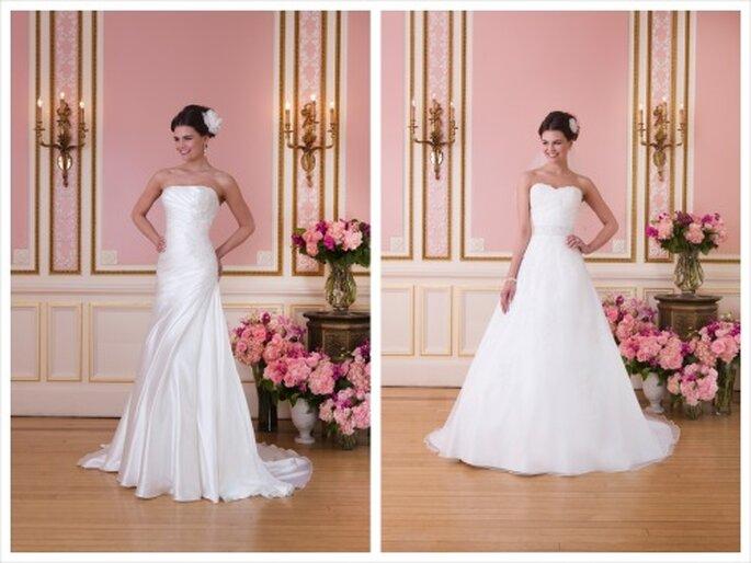 Umwerfend romantisch und weiblich - die Brautkleider von Sweetheart 2014