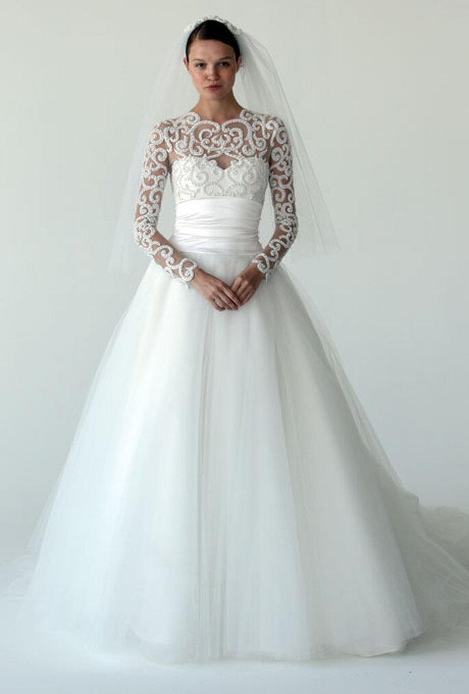 Vestido de novia de Marchesa - Otoño 2012