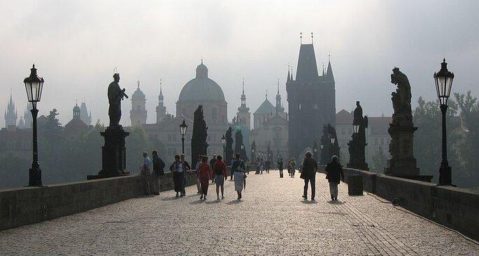 Puente de Carlos en Praga. Foto: Chosovi