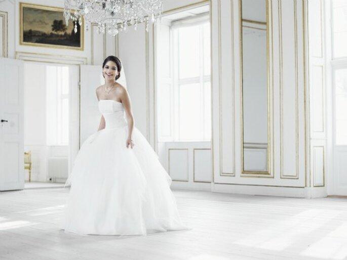 """Brautkleider im Prinzessinnen-Stil sind auch 2013 wieder """"in"""" – Foto: lilly"""